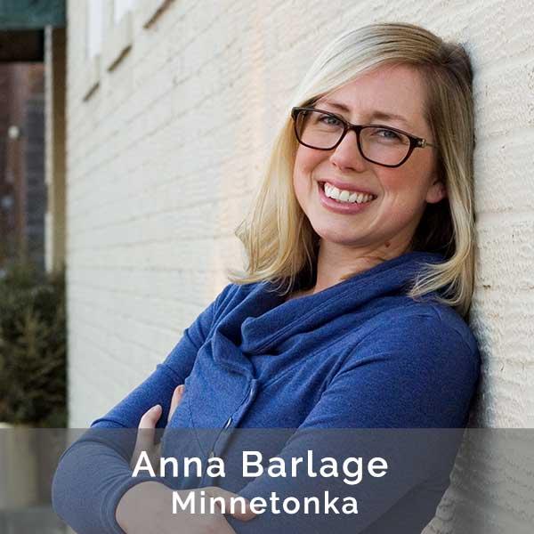 Anna Barlage, Therapist