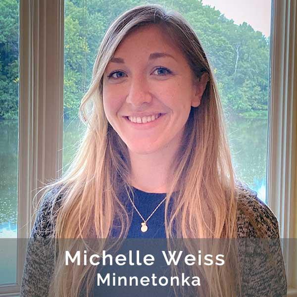 Michelle Weiss, Front Desk Coordinator