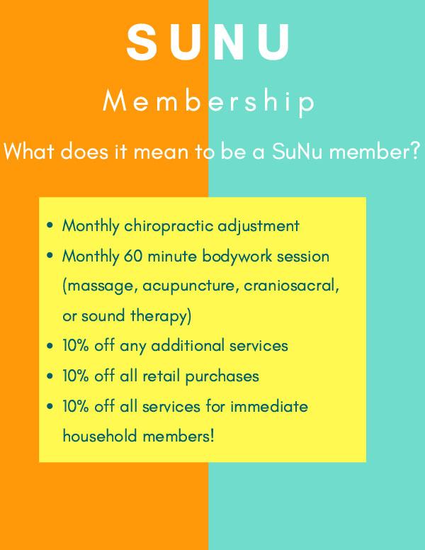Sunu Membership