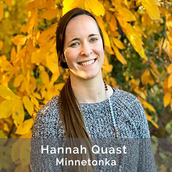 Hannah Quast, Front Desk Coordinator