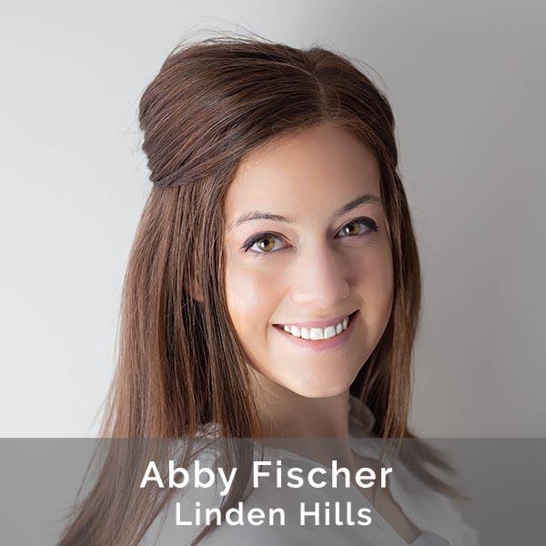 Abby Fischer, Clinic Coordinator at Linden hills- Headshot